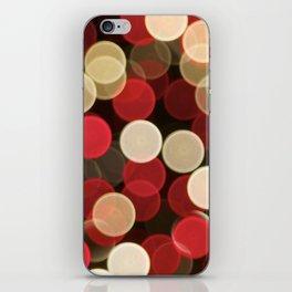 Winter Bokeh iPhone Skin