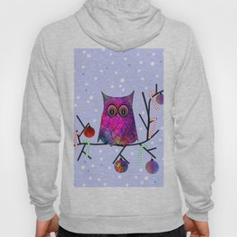 The Festive Owl Hoody
