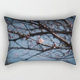 Almost spring Rectangular Pillow