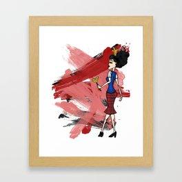 Disneyland Queen of Hearts - Evil Relations Framed Art Print