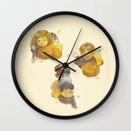 MEME 013 Hermione Ron Harry Wall Clock