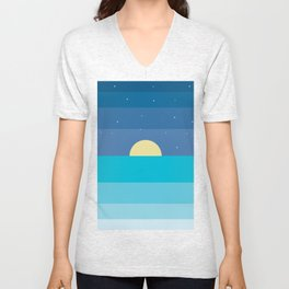 moonrise Unisex V-Neck