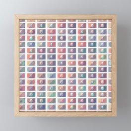 Dollar Pattern 4 Framed Mini Art Print