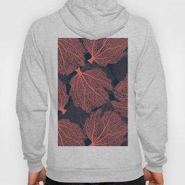 Fan living coral Hoody