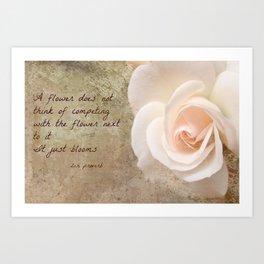 Zen Proverb 4 Art Print