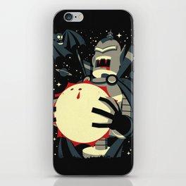 Vampirebot bites the Sun iPhone Skin