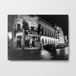 Nocturne Photograph - Prague, 17. Metal Print