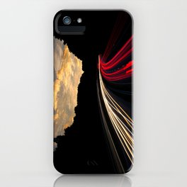 timelapse car red iPhone Case