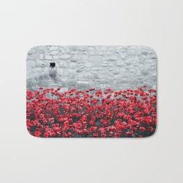 Tower Poppies 02B Bath Mat