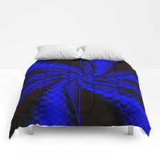 Checkers in Blue.... Comforters