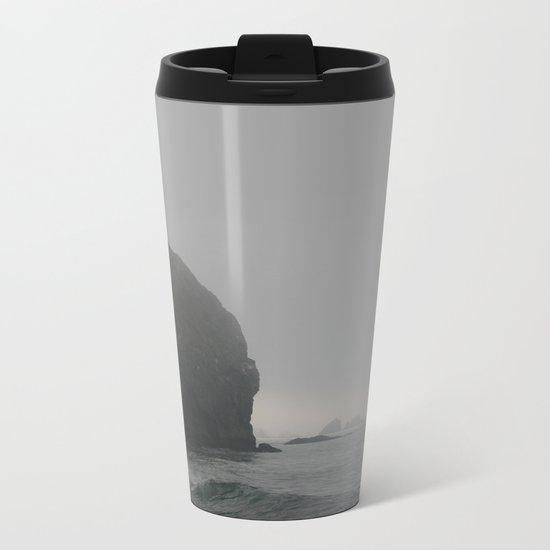 Ominous Tides Metal Travel Mug