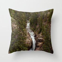 Rushing Judd Falls Throw Pillow