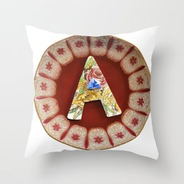 Love Letters to Dinnerware - A Throw Pillow