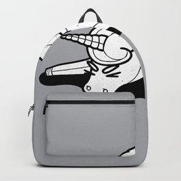 Tired Unicorn broken Backpack