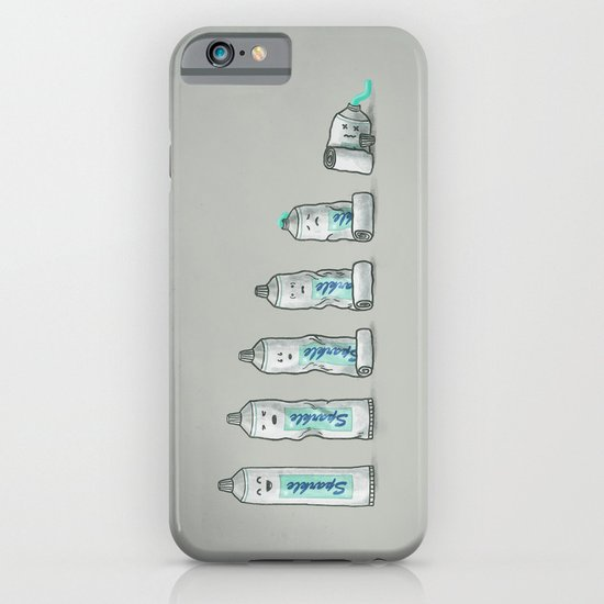 Life is like a tube of toothpaste iPhone & iPod Case