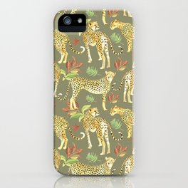 Cheetah Clearing iPhone Case