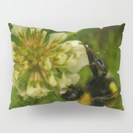Bumble Bee Photography Print Pillow Sham