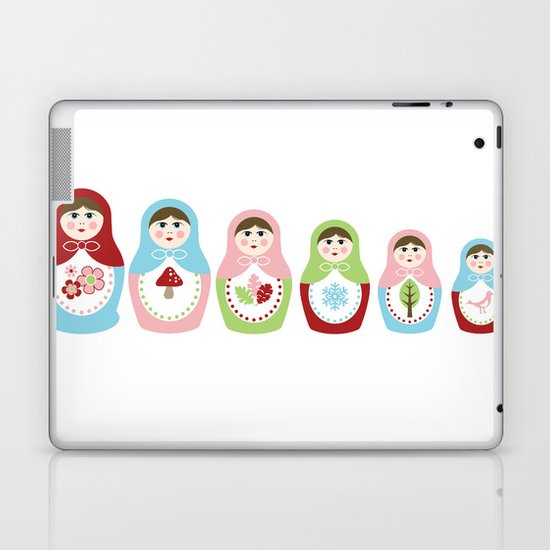 Matrioshka Dolls - Trio Laptop & iPad Skin