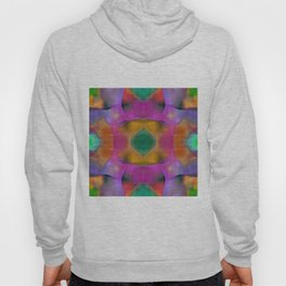 Color Fusion Lilac Mirrored Abstract Hoody