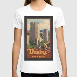Vintage poster - Visby T-shirt