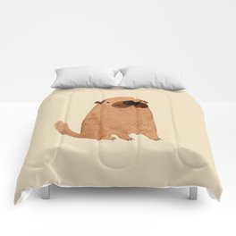 Brown Doggy Comforters