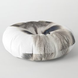 Baby Racoon Floor Pillow