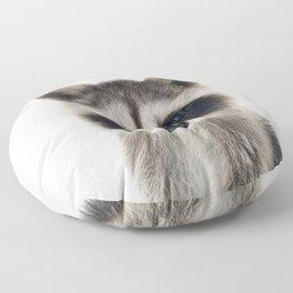 Baby Racoon Floor Pillow