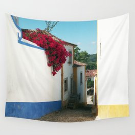 Portugal, Obidos (RR 180) Analog 6x6 odak Ektar 100 Wall Tapestry