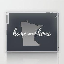 Minnesota Home Sweet Home Grey Laptop & iPad Skin