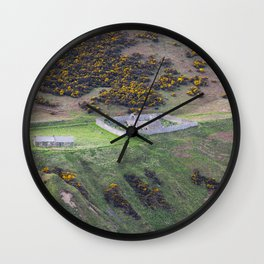 Ruined Scottsh Church Wall Clock
