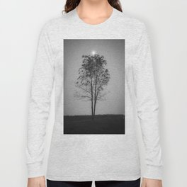 Moon over a tree Long Sleeve T-shirt
