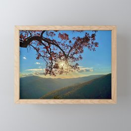 Shenandoah Sunset Framed Mini Art Print
