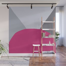 Deyoung Pink Yarrow Wall Mural