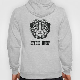 "Cecil The Lion ""Stupid Hunt"" Hoody"