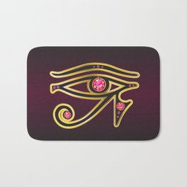 Eye of Ra Ruby Bath Mat