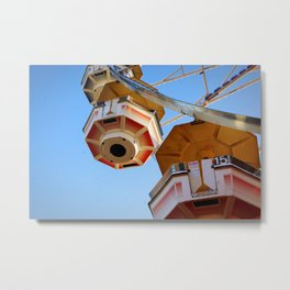 state fair ferris wheel Metal Print