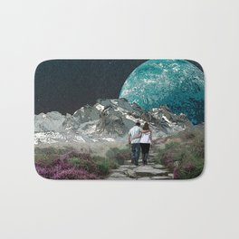 Moon Walk Bath Mat