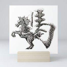 The Zodiac 12 - Horse Mini Art Print