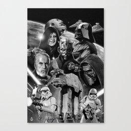 Dark Side StarWars Darth Vader Darth Maul Sith Storm Trooper kylo Dooku Sidious Canvas Print