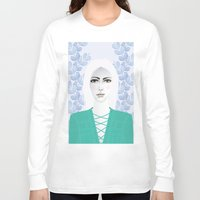 army Long Sleeve T-shirts featuring Army Girl by EISENHART