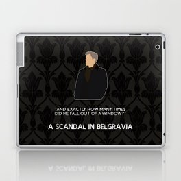 A Scandal in Belgravia - Greg Lestrade Laptop & iPad Skin