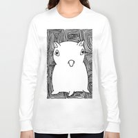 dumbo Long Sleeve T-shirts featuring Dumbo Octopus by Indigo K