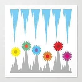 Flower #society6 #decor #buyart #artprint Canvas Print