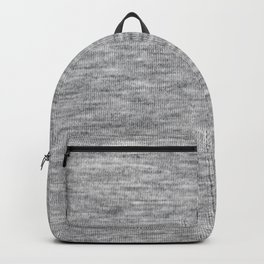 Light athletic grey shirt pattern Backpack