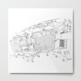 bonney drawing Metal Print
