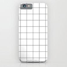 White Grid  /// www.pencilmeinstationery.com iPhone 6 Slim Case