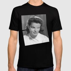 Wink LARGE Mens Fitted Tee Black