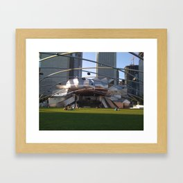 Chicago Lawned Framed Art Print