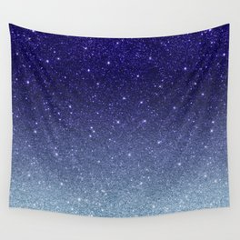 Ombre glitter #14 Wall Tapestry