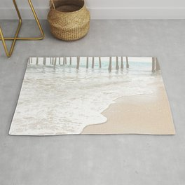 Huntington Beach Wave // California Ocean Sandy Beaches Surf Country Pacific West Coast Photography Rug